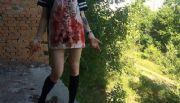 Detienen a adolescente rusa por sacarle el coraz�n a un gatito y crucificar a cachorro de perro