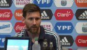 """Messi advierte: """"Despu�s de la final voy a hablar"""""""
