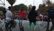 4000 personas bailaron bajo la lluvia por el Bicentenario de la Independencia