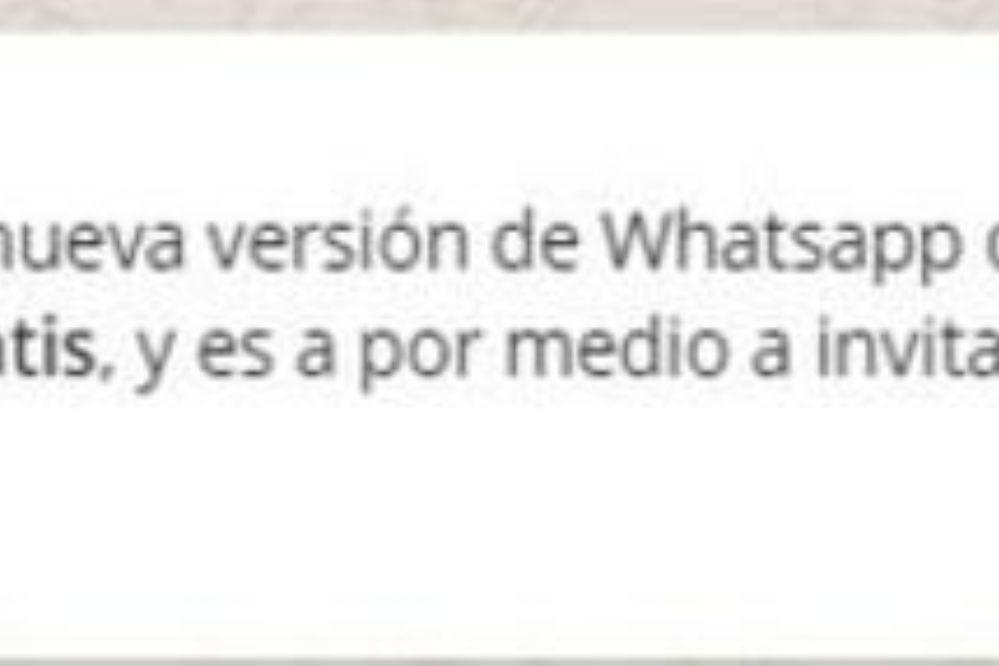 Alertan sobre una estafa por WhatsApp