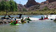 Ante la llegada del Mundial, brindarán clases de Kayak