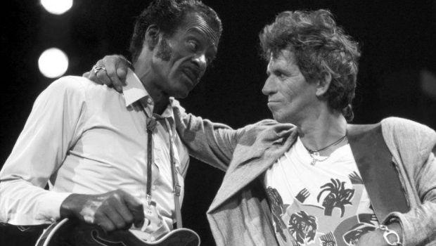 El día que Chuck Berry le pegó una trompada a un stone