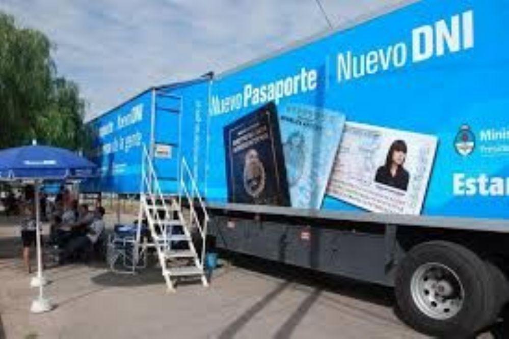 El Camión de DNI ya atendió a 2300 sanjuaninos