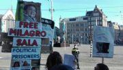 Macri recibido con apoyo y criticas en Holanda