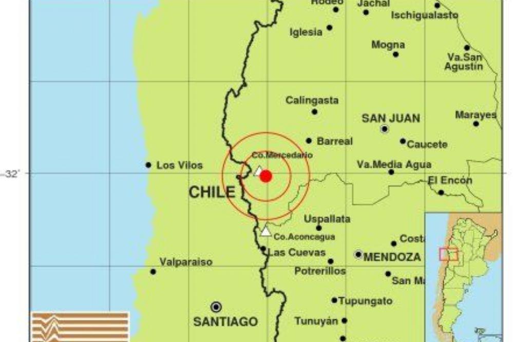 Un sismo movió la mañana en San Juan