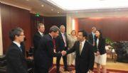 Uñac impulsa un convenio con la provincia china que compró medio Veladero