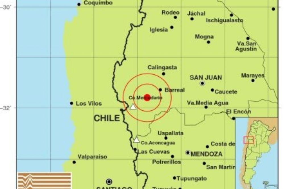 El día empezó con un sismo leve en Calingasta