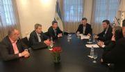 Uñac firmó con Macri el financiamiento para Tambolar II