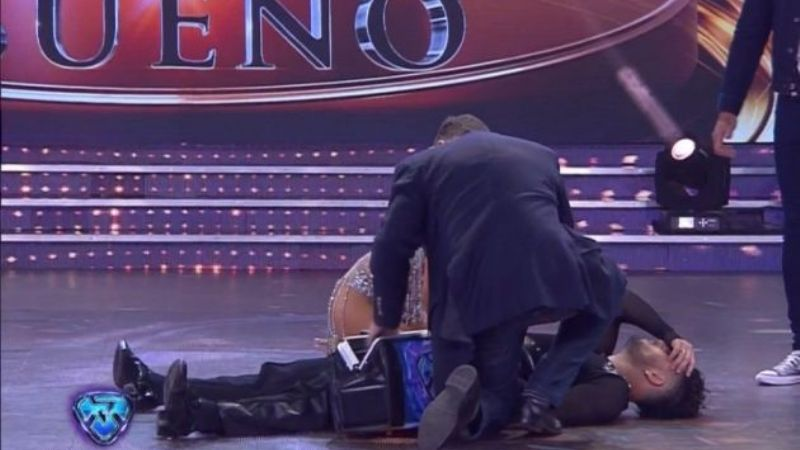 Accidente en Showmatch: Facu Mazzei se descompensó en vivo