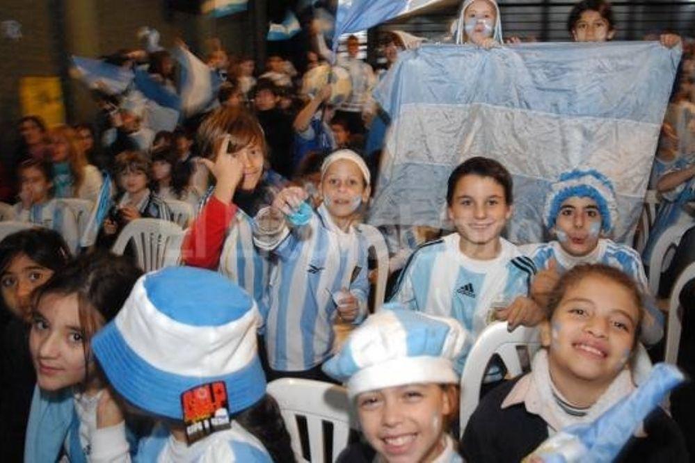 Los chicos podrán ver el Mundial en las escuelas sanjuaninas