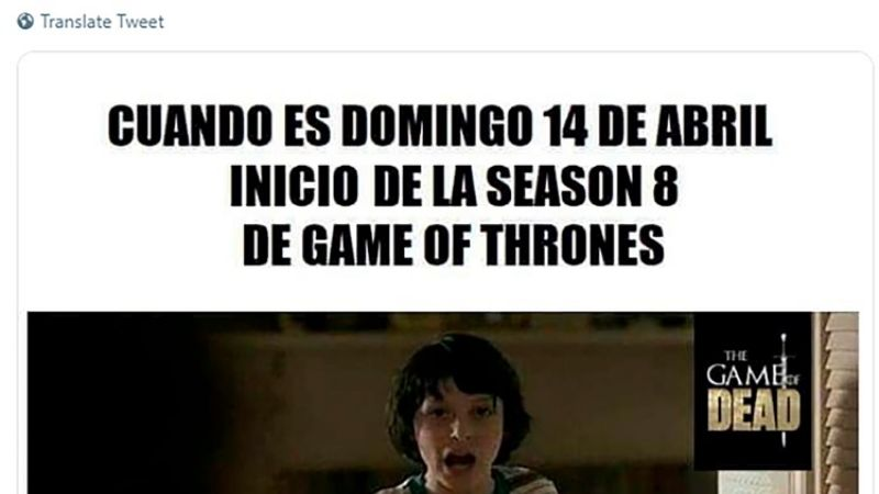 Comenzó la octava temporada de Game Of Thrones... y ¡hay memes!