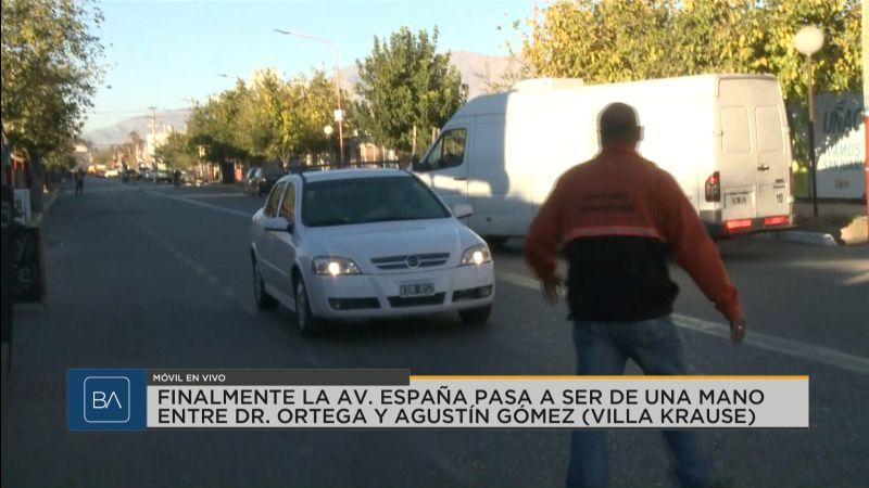Confusión y desconocimiento por el cambio de sentido de avenida España