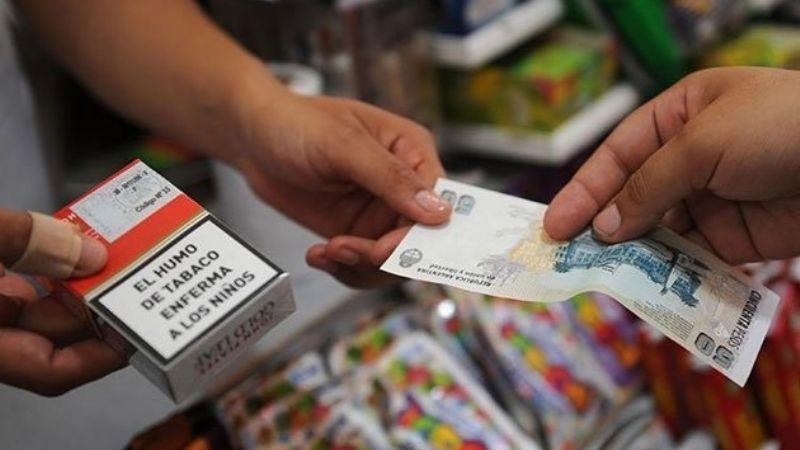 Este viernes los cigarrillos vuelven a aumentar sus precios un 6%