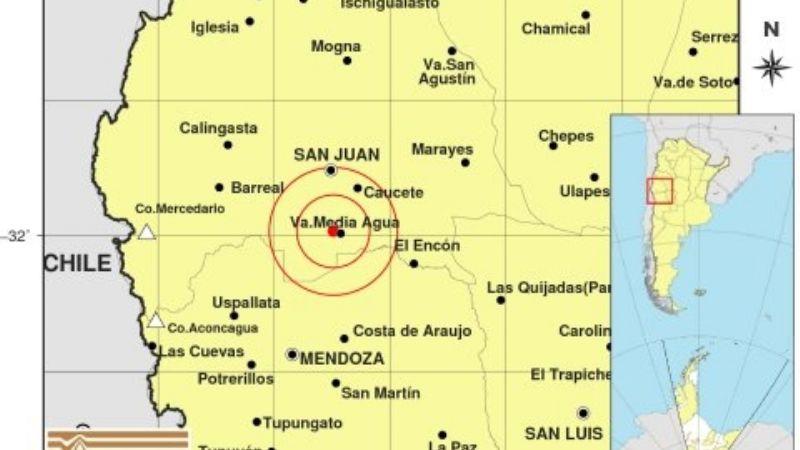 Un sismo de 3° sacudió la siesta este jueves
