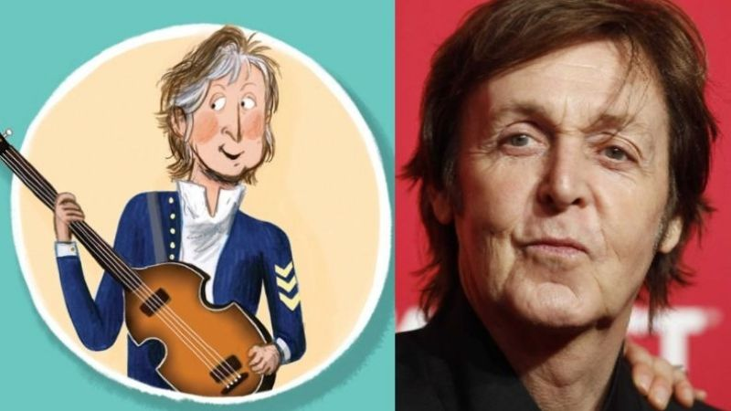 Paul McCartney publicó un libro infantil