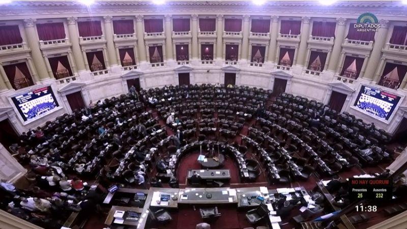 Diputados aprobó el proyecto de Emergencia Alimentaria en Argentina