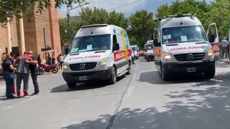 ambulancia protesta
