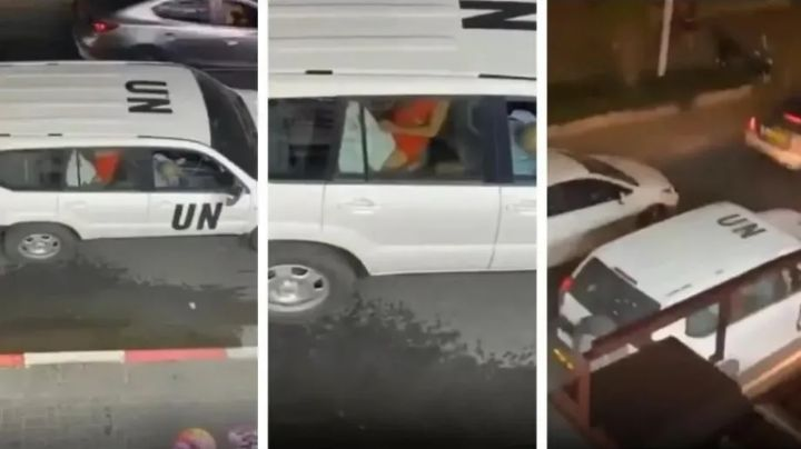 Escándalo por video sexual en un auto de la ONU